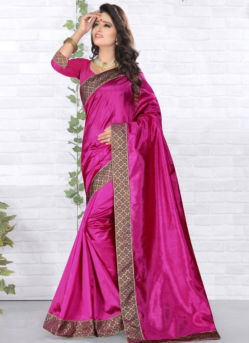 Delightsome Art Silk Casual Saree