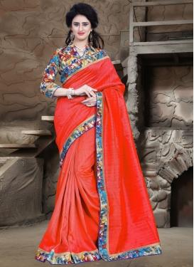 Delightsome Bhagalpuri Silk Casual Saree
