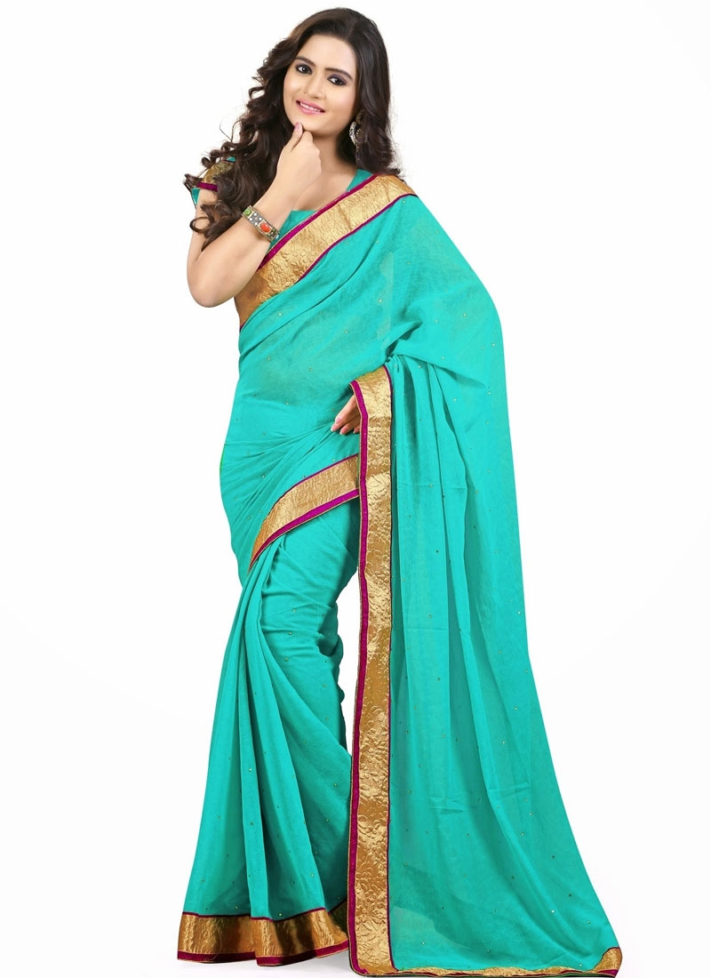 Delightsome Resham Work Casual Saree