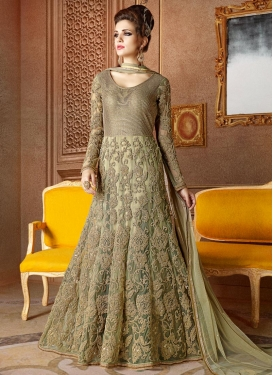 Deserving  Floor Length Anarkali Salwar Suit