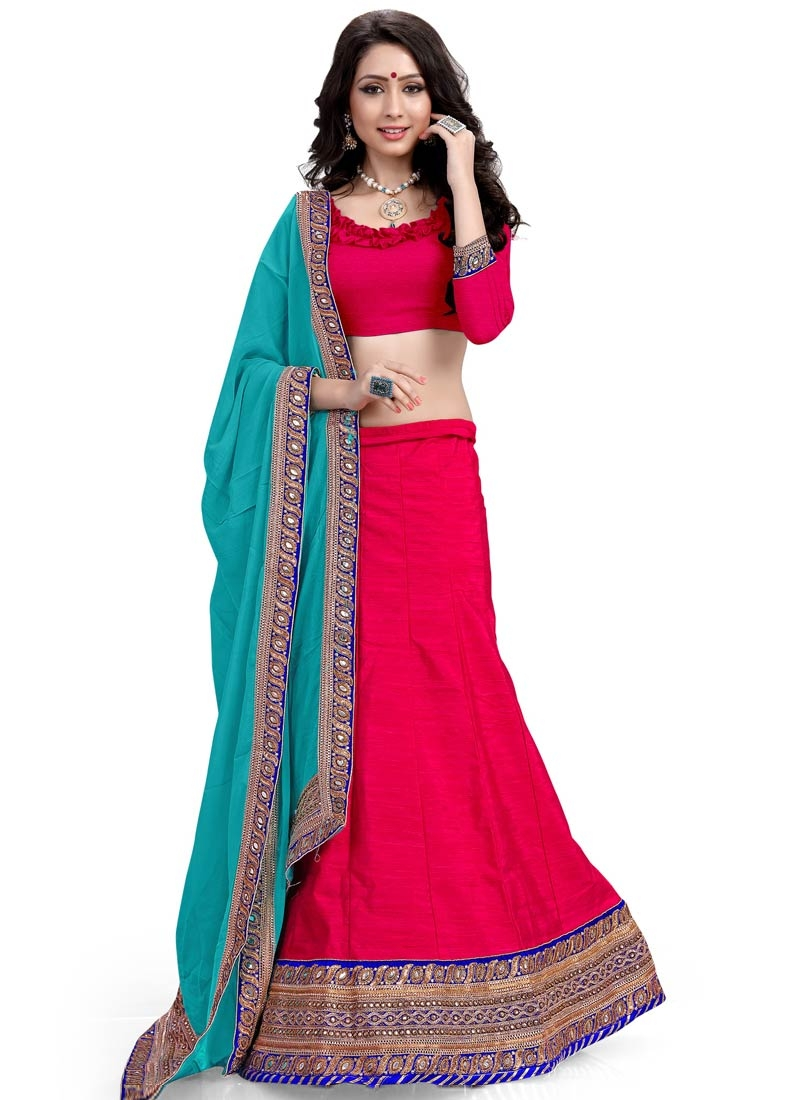 Deserving Sequins Work Silk Designer Lehenga Choli