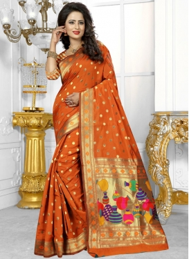 Deserving  Trendy Saree For Festival