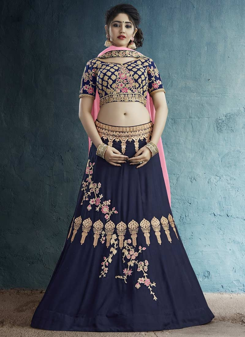 Designer A Line Lehenga Choli