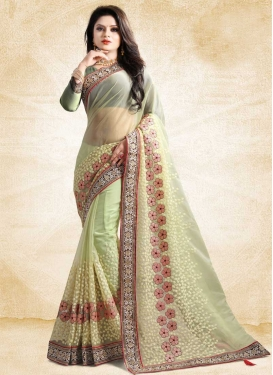 Designer Contemporary Saree For Ceremonial