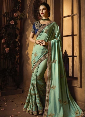 Designer Contemporary Style Saree For Festival