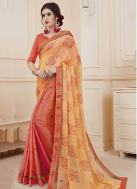 Designer Half N Half Saree For Ceremonial