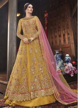 Designer Kameez Style Lehenga Choli