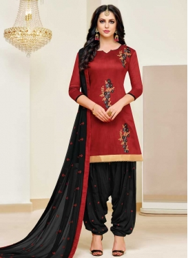 Designer Patiala Salwar Suit For Ceremonial