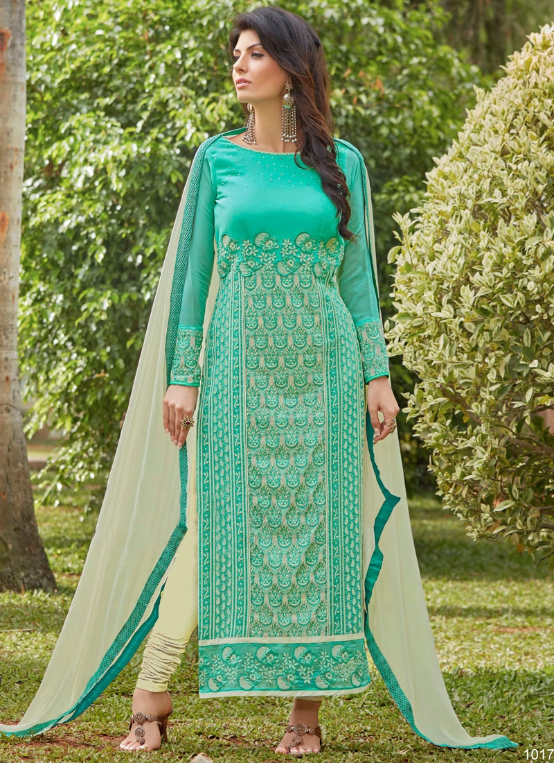 Desirable Faux Georgette Pakistani Salwar Kameez
