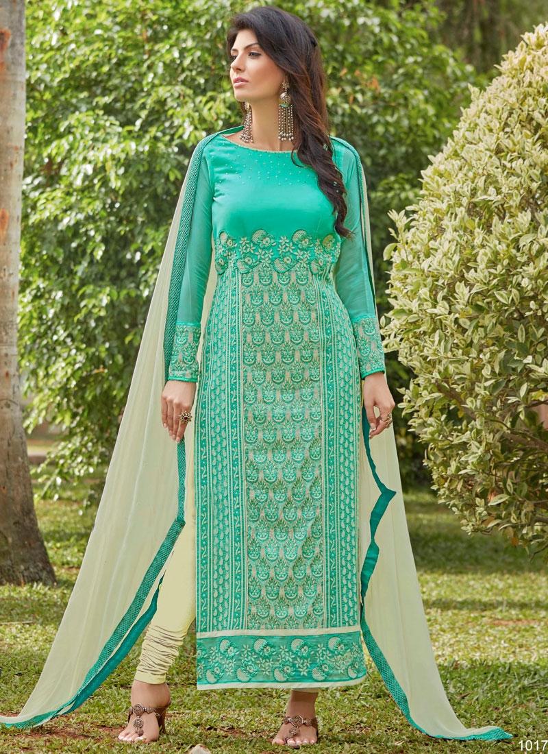 Desirable Faux Georgette Pakistani Salwar Kameez