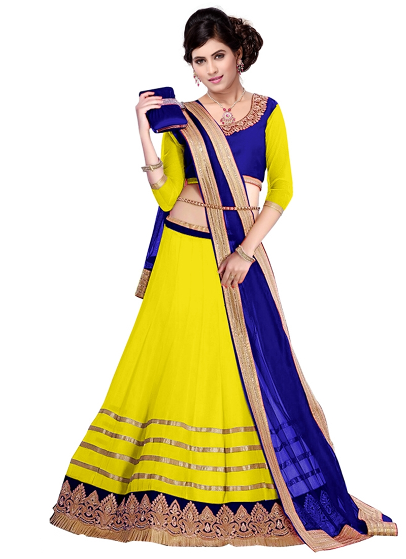Desirable Faux Georgette Party Wear Lehenga Choli