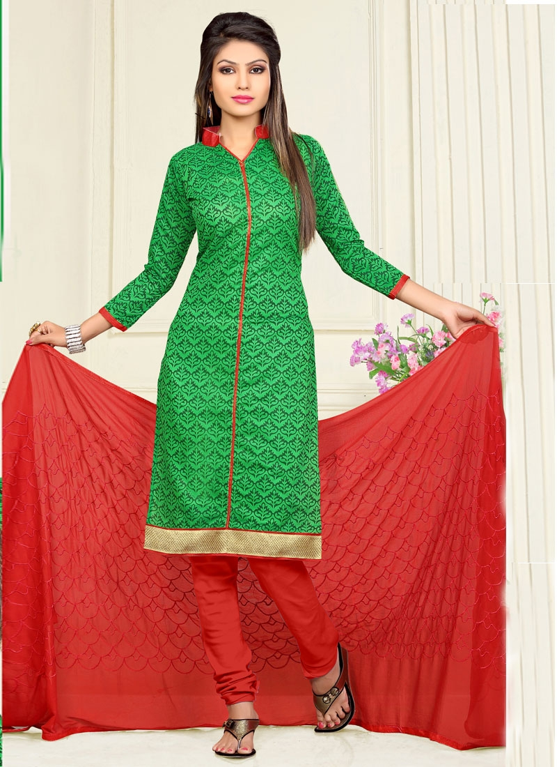 Desirable Printed Casual Salwar Kameez