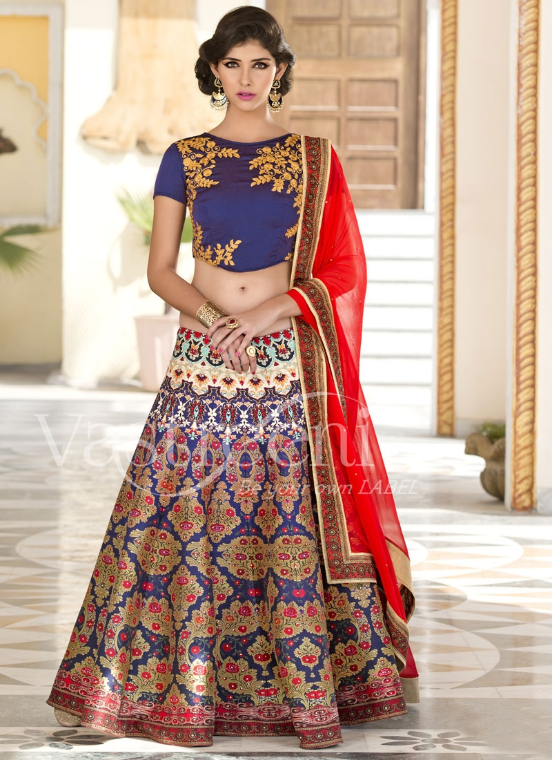 Desirable Resham And Stone Work Designer Lehenga Choli