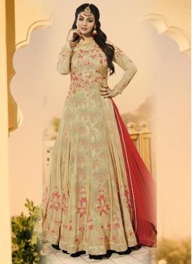 Digital Print Work Ayesha Takia Floor Length Anarkali Suit