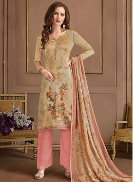 Digital Print Work Pant Style Designer Salwar Suit