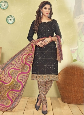 Digital Print Work  Trendy Salwar Kameez