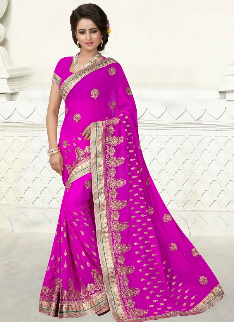 Dilettante Booti And Lace Work Party Wear Saree