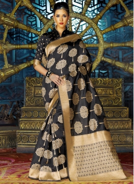 Distinctively Art Silk Contemporary Saree