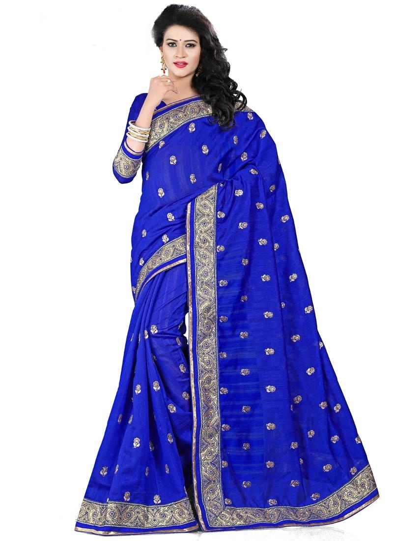 Distinctively Bhagalpuri Silk Party Wear Saree