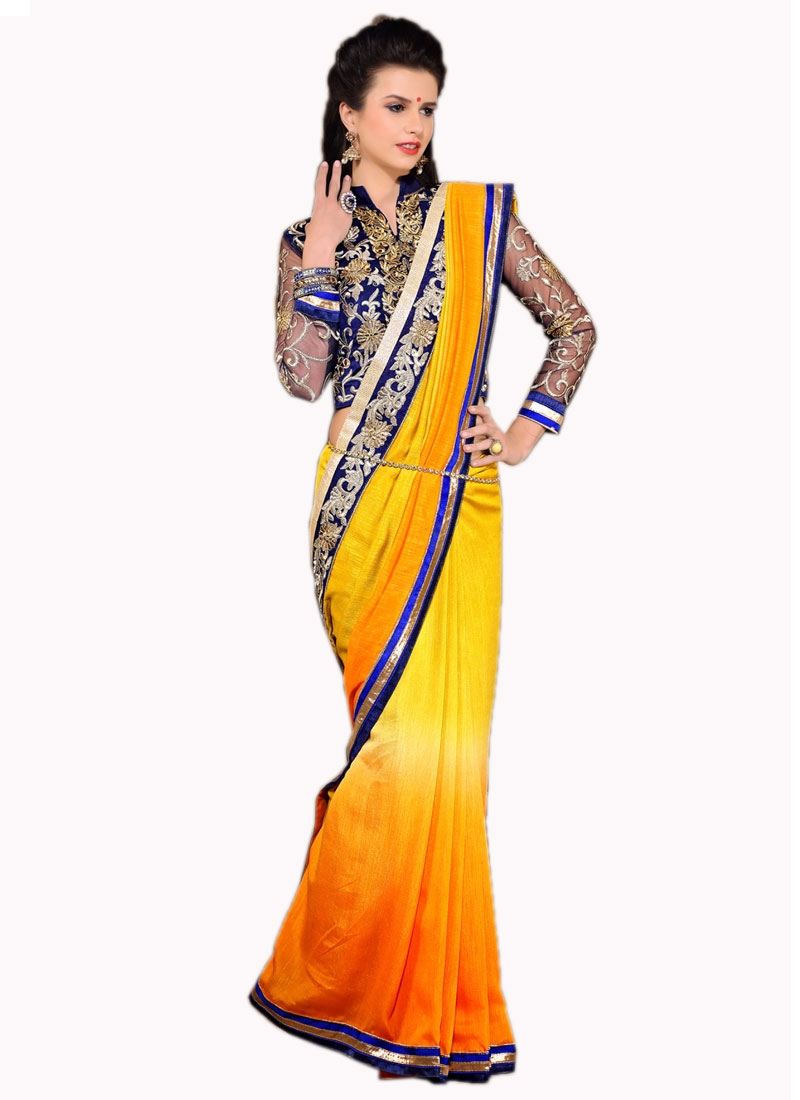 Distinctively Cotton Silk Lace Work Party Wear Saree