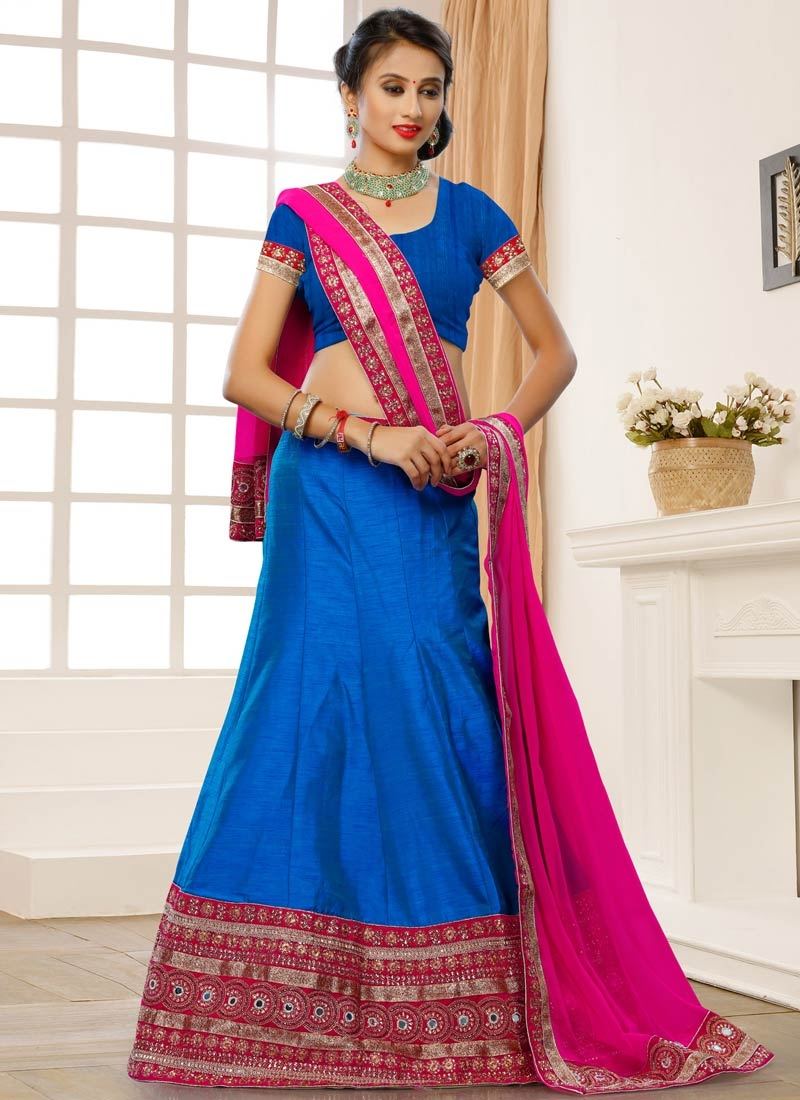 Distinctively Mirror Work Designer Lehenga Choli