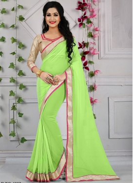 Distinctively Resham Work Casual Saree