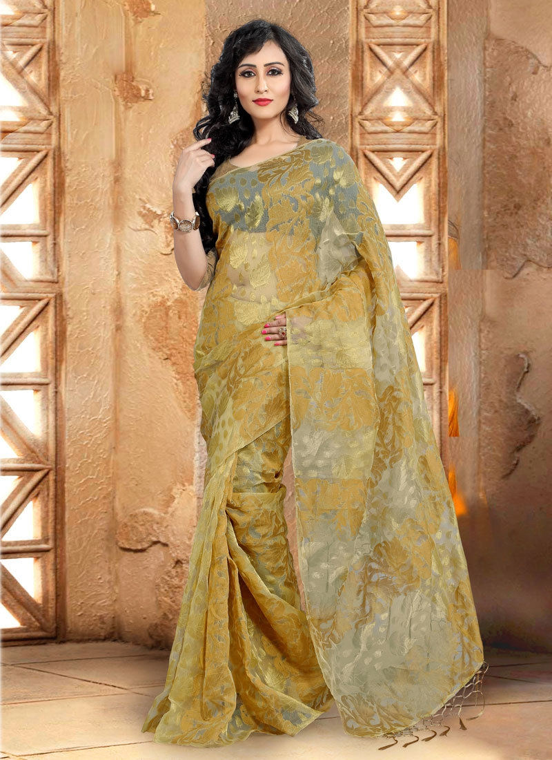 Distinguishable Banarasi Silk Casual Saree