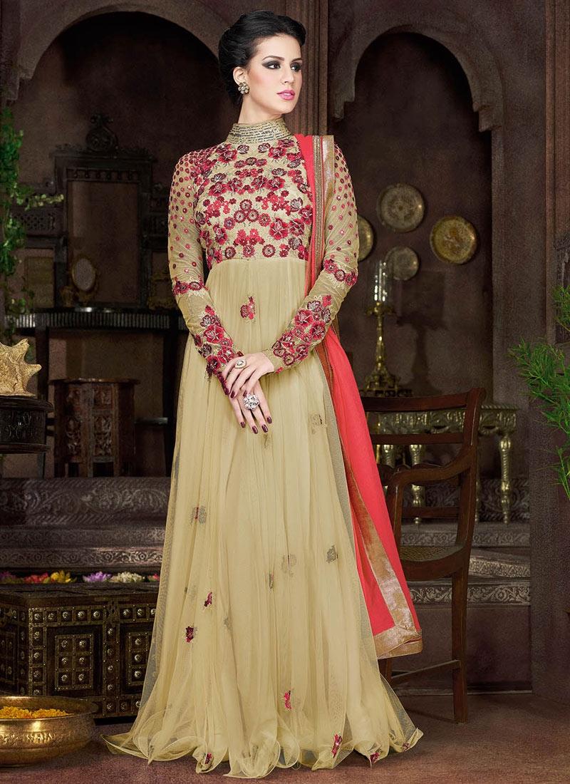 Distinguishable Sequins Work Floor Length Designer Salwar Suit