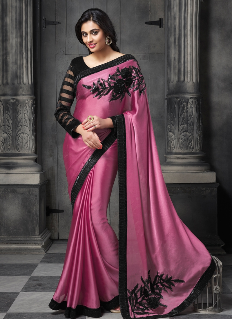 Divine Sequins Work Designer Saree