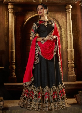 Embroidered Work Designer A Line Lehenga Choli