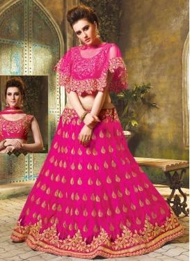 Embroidered Work Designer A Line Lehenga Choli