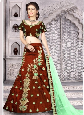 Embroidered Work Designer Classic Lehenga Choli