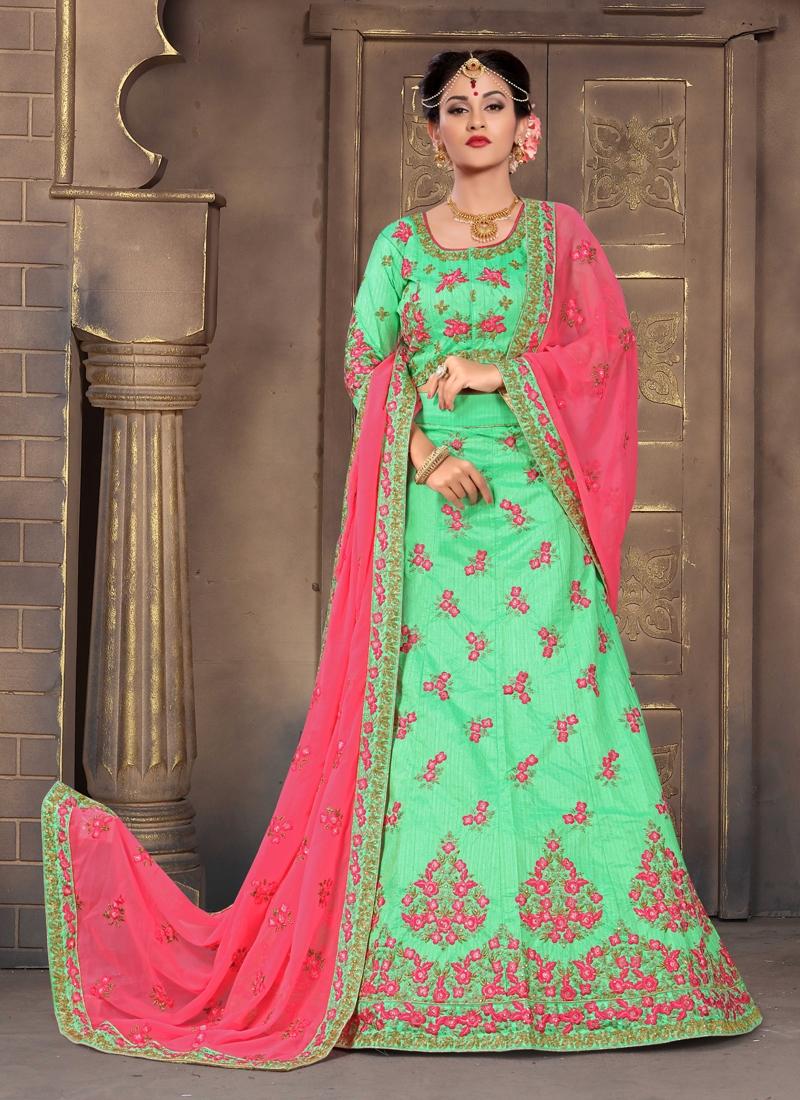 Embroidered Work Designer Lehenga Choli