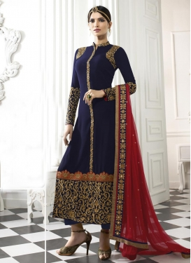 Embroidered Work Designer Pakistani Salwar Suit