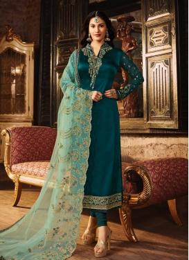 Embroidered Work Designer Pakistani Salwar Suit
