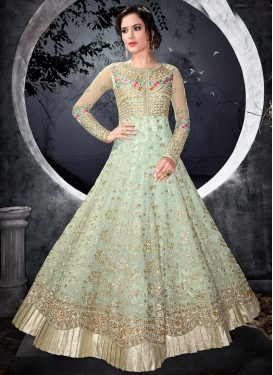 Embroidered Work Desinger Anarkali Salwar Kameez