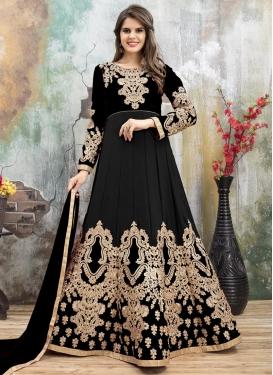 Embroidered Work Desinger Anarkali Salwar Suit