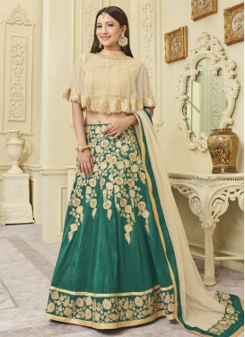 Embroidered Work Gauhar Khan Designer Classic Lehenga Choli