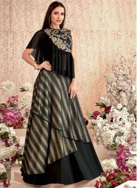 Embroidered Work Layered Designer Lehenga Choli