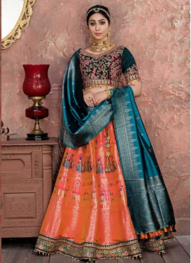 Embroidered Work Lehenga Choli