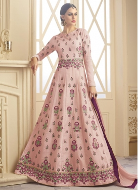 Embroidered Work Long Length Salwar Kameez