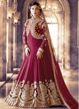Embroidered Work Pure Georgette Desinger Anarkali Salwar Kameez
