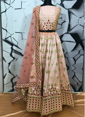 Embroidered Work Silk Designer Classic Lehenga Choli