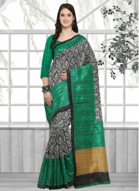 Embroidered Work Trendy Classic Saree For Casual