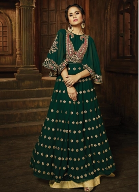 Embroidered Work Trendy Designer Salwar Kameez