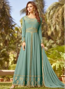 Embroidered Work Trendy Designer Salwar Suit