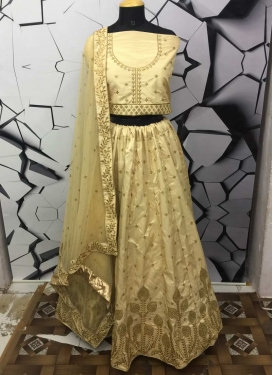 Embroidered Work Trendy Lehenga Choli