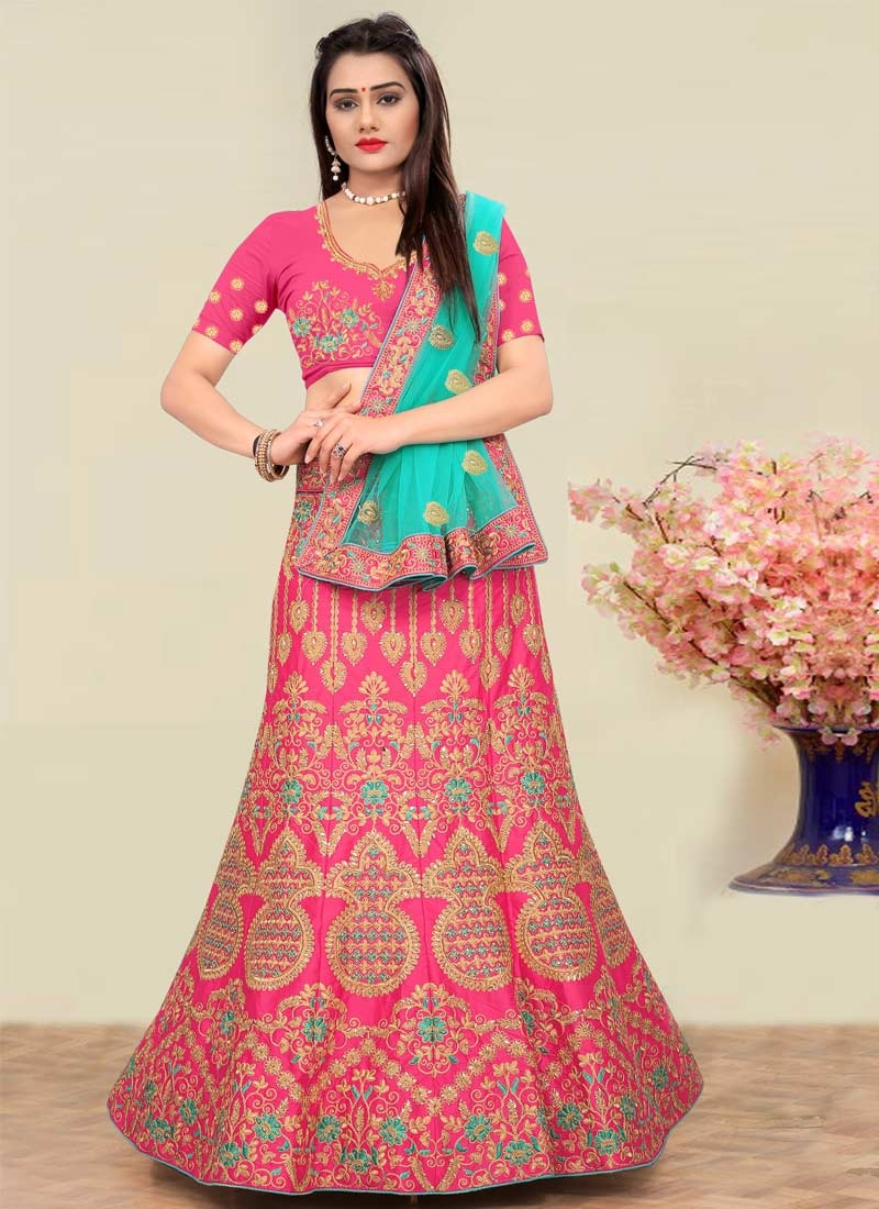 Embroidered Work Trendy Lehenga Choli For Party