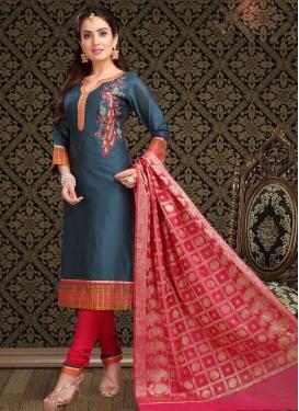 Embroidered Work Trendy Salwar Kameez