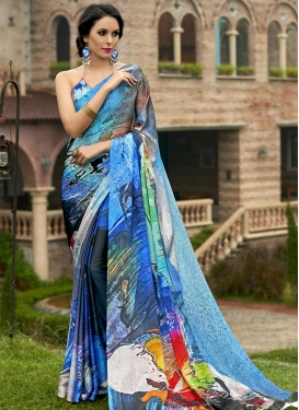 Enchanting Contemporary Style Saree For Festival